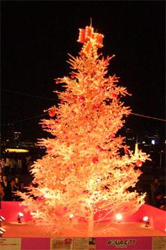 アクアシティクリスマスツリー