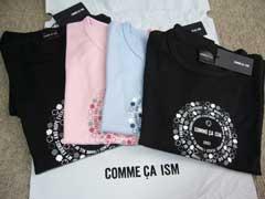 コムサのTシャツCOMME CA ISM