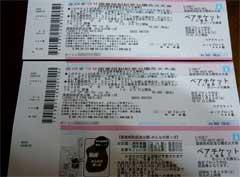 2006年国営昭和記念公園花火大会チケット