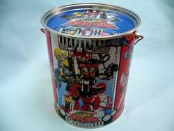 ボウケンジャークリスマスお菓子缶