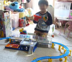 プラレール 大きなドームステーション500系新幹線セット