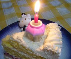 ハローキティのひなケーキ