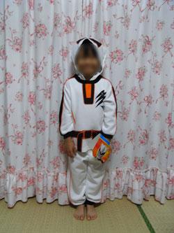 プリキュア5 変身ダンボールニットパジャマ