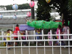 保育園の夏祭り夜の部