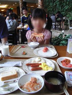 朝食 シャトレーゼ ガトーキングダムサッポロ