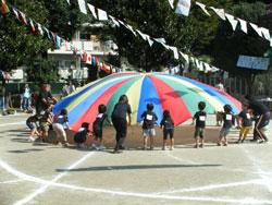 保育園最後の運動会