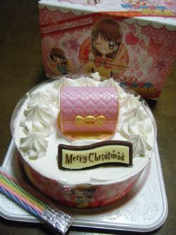 極上めちゃモテ委員長クリスマスケーキ