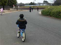 補助なし自転車