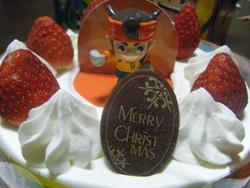 イナズマイレブンのクリスマスケーキ