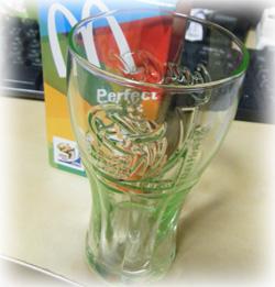 マクドナルド FIFAワールドカップ限定 Coke glass