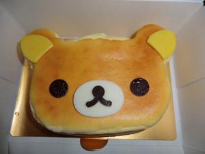 リラックマの誕生日ケーキ