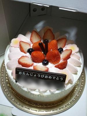シャトレーゼデコレーションケーキ