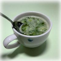 スープなしあわせ 夏の野菜でしあわせ