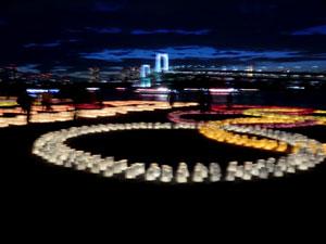 海の灯まつりinお台場2012