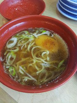 くら寿司 7種の魚介醤油ラーメン