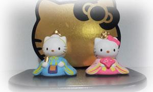 キティとダニエルの雛人形