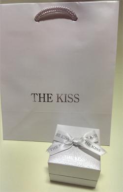 ハローキティ×THE KISS リング トリニティハート