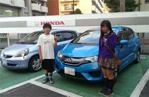 Honda フィットハイブリッド